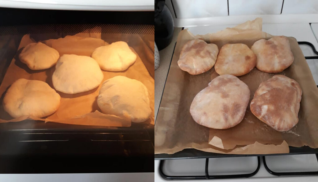 przepis na chlebki do kebaba